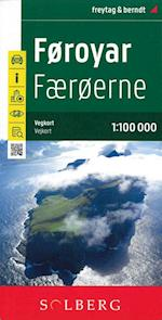 Føroyar Færøerne 1:100.000