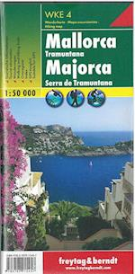 Mallorca Tramuntana Hiking Map (Freytag & Berndt Hiking Map)