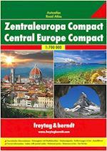 Europe Central - Zentraleuropa, Freytag & Berndt Compact Autoatlas (Freytag & Berndt)