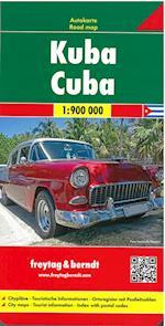 Cuba, Freytag & Berndt Road Map (Freytag & Berndt Road Map)