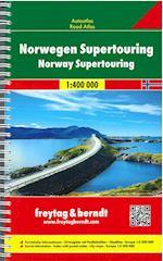 Norwegen Supertouring Autoatlas - Norway Supertouring (Freytag Berndt Autoatlas)