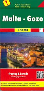 Malta Gozo, Freytag & Berndt Road & Leisure Map (Freytag & Berndt Road Map)