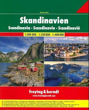 Skandinavien - Scandinavia Superatlas, Freytag & Berndt