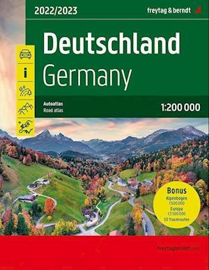 Deutschland, Autoatlas 1:200.000