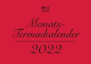 Monatsterminkalender 2022