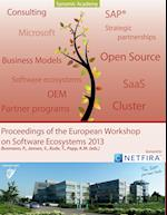 Proceedings of the European Workshop on Software Ecosystems 2013