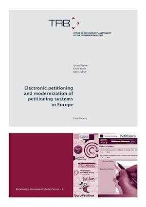 Electronic petitioning and modernization of petitioning systems in Europe