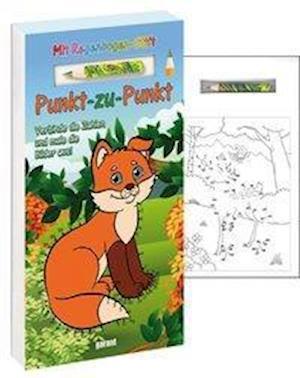 Punkt-zu-Punkt mit Stift - Wald