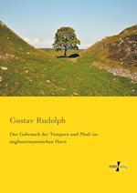 Der Gebrauch Der Tempora Und Modi Im Anglonormannischen Horn af Gustav Rudolph