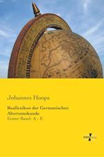 Reallexikon Der Germanischen Altertumskunde af Johannes Hoops
