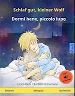 Schlaf Gut, Kleiner Wolf - Dormi Bene, Piccolo Lupo. Zweisprachiges Kinderbuch (Deutsch - Italienisch) af Ulrich Renz