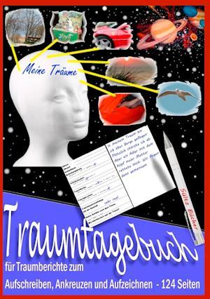 Traumtagebuch für Traumberichte zum Aufschreiben, Ankreuzen und Aufzeichnen