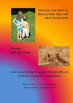 Stronny Und Leila Zu Besuch Bei Opa Auf Dem Bauernhof & Stronny Und Der Lowe
