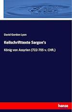 Keilschrifttexte Sargon's af David Gordon Lyon