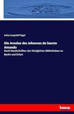 Die Areolae Des Johannes de Sancto Amando af Julius Leopold Pagel