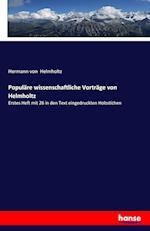 Populare Wissenschaftliche Vortrage Von Helmholtz