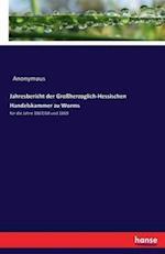 Jahresbericht Der Grossherzoglich-Hessischen Handelskammer Zu Worms