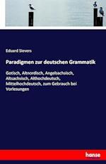 Paradigmen Zur Deutschen Grammatik