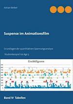 Suspense Im Animationsfilm Band IV Tabellen af Adrian Weibel