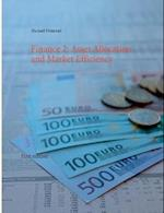 Finance 2: Asset Allocation and Market Efficiency