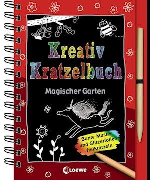 Kreativ-Kratzelbuch: Magischer Garten