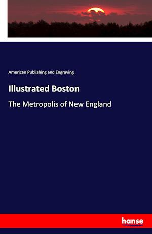 Bog, hæftet Illustrated Boston af American Publishing and Engraving