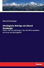 Histologische Beitrage Von Eduard Strasburger