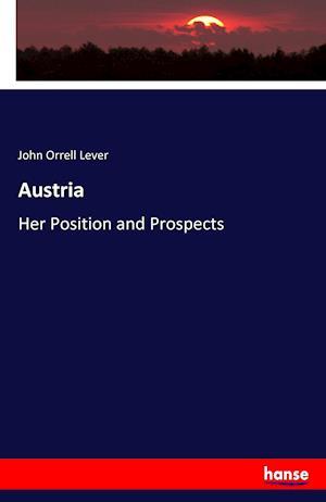 Bog, hæftet Austria af John Orrell Lever