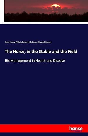 Bog, hæftet The Horse, in the Stable and the Field af John Henry Walsh, Ellwood Harvey, Robert McClure