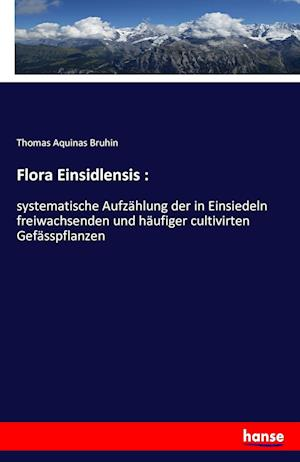 Bog, paperback Flora Einsidlensis af Thomas Aquinas Bruhin