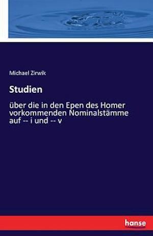 Bog, paperback Studien af Michael Zirwik