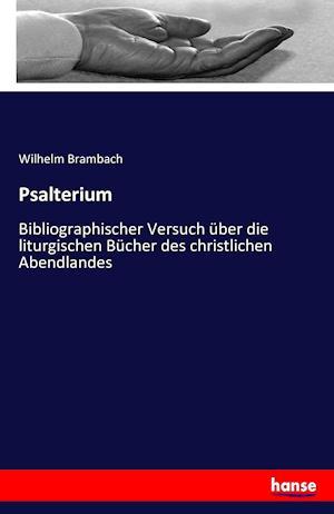 Bog, paperback Psalterium af Wilhelm Brambach