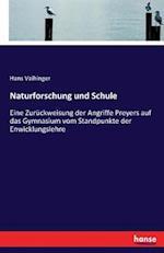 Naturforschung Und Schule