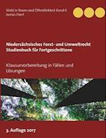 Niedersachsisches Forst- Und Umweltrecht Studienbuch Fur Fortgeschrittene af Justus Eberl