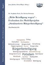 Mehr Beteiligung Wagen - Evaluation Des Modellprojekts Strukturierte Burgerbeteiligung af Stephanie Bock