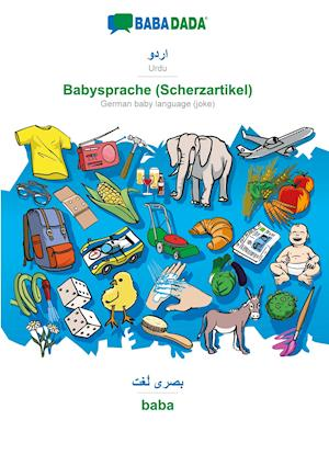 BABADADA, Urdu (in arabic script) - Babysprache (Scherzartikel), visual dictionary (in arabic script) - baba