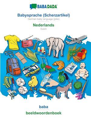 BABADADA, Babysprache (Scherzartikel) - Nederlands, baba - beeldwoordenboek