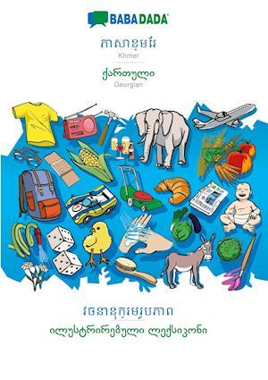 BABADADA, Khmer (in khmer script) - Georgian (in georgian script), visual dictionary (in khmer script) - visual dictionary (in georgian script)