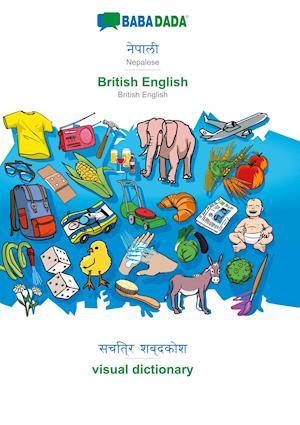 BABADADA, Nepalese (in devanagari script) - British English, visual dictionary (in devanagari script) - visual dictionary
