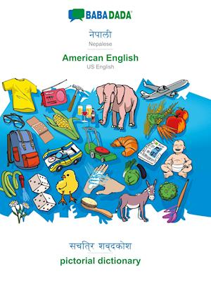 BABADADA, Nepalese (in devanagari script) - American English, visual dictionary (in devanagari script) - pictorial dictionary