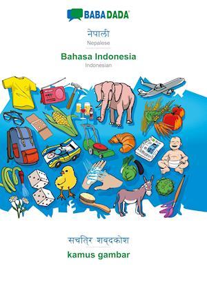 BABADADA, Nepalese (in devanagari script) - Bahasa Indonesia, visual dictionary (in devanagari script) - kamus gambar