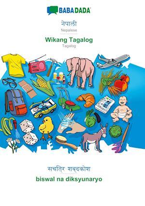 BABADADA, Nepalese (in devanagari script) - Wikang Tagalog, visual dictionary (in devanagari script) - biswal na diksyunaryo