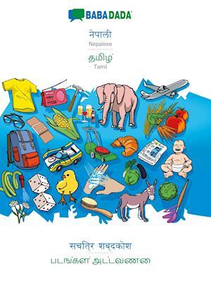 BABADADA, Nepalese (in devanagari script) - Tamil (in tamil script), visual dictionary (in devanagari script) - visual dictionary (in tamil script)
