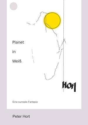 Planet in Weiß