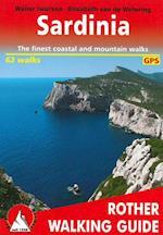 Sardinia, Rother Walking Guide af Bergverlag Rother