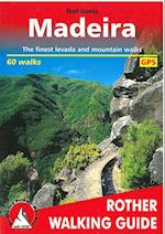 Madeira (Rother Walking Guides - Europe)