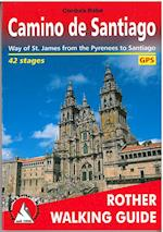 Camino De Santiago (Rother Walking Guide)