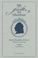 Mit Goethe Am Oberrhein af Wilhelm E. Oeftering, Georg Richter