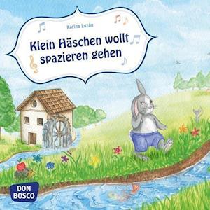 Klein Häschen wollt spazieren gehn. Mini-Bilderbuch.