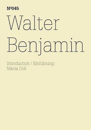 Bog foldere Walter Benjamin af Walter Benjamin